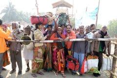 Gangasagarfestival Stock Fotografie