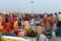 Gangasagarfestival Royalty-vrije Stock Afbeeldingen