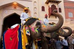 Gangaur Festival-Jaipur Fotos de Stock Royalty Free