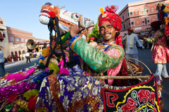 Gangaur Festival-Jaipur Stock Photos