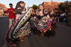 Gangaur Festival-Jaipur Immagine Stock Libera da Diritti