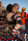 Gangaur Festival-Jaipur Image libre de droits