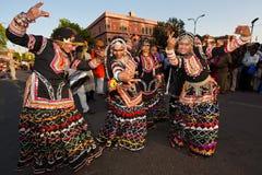 Gangaur Festival-Jaipur Fotografia Stock Libera da Diritti