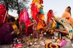 Gangaur Festival-Rajasthan Stock Images