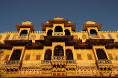 Gangaur Ghat. An example of Rajput architecture that overlooks the Gangaur Ghat in Udaipur, India Stock Photography