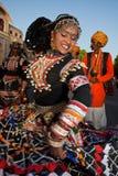 gangaur jaipur празднества стоковое изображение rf
