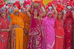 Gangaur Procession Royalty Free Stock Images