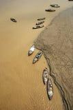 река ganges Стоковое Изображение