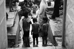 Ganges em India Imagem de Stock