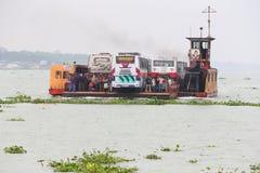 Ganges färja Arkivfoton