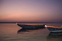 ganges flod royaltyfri fotografi