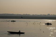 Ganges-Fluss stockfotografie
