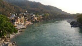 Ganges Indien Fotografering för Bildbyråer