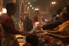 ganges modlenie zdjęcie royalty free