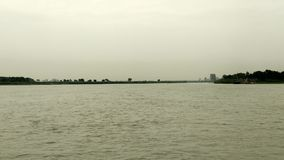 Ganges. Morning beauty of ganges royalty free stock image