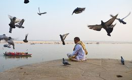 Ganges River Royalty Free Stock Photo
