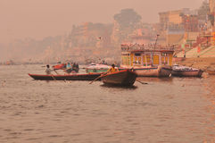The Ganges river.India Royalty Free Stock Photography