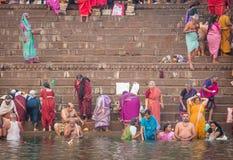 Ganges Riverside Stock Photos