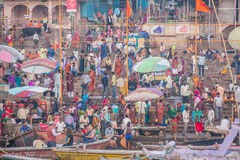 Ganges Riverside Royalty Free Stock Photo