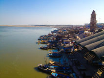 The Ganges. A sacred Hindu river in India Stock Image