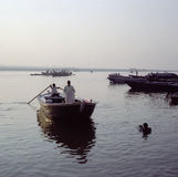 The Ganges at Varanasi Royalty Free Stock Photos