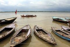 Gangeset River Royaltyfria Bilder