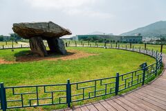Ganghwa Dolmen park UNESCO World Heritage Site in Incheon, Korea