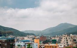 Ganghwa island city panorama view in Incheon, Korea