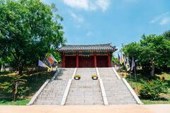 Ganghwa island Goryeogung Palace Site in Incheon, Korea