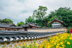 Ganghwa island old village, Yeongheung Palace Korean traditional architecture in Incheon, Korea