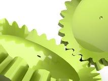 Gangkonzept des Grüns zwei Stockbild