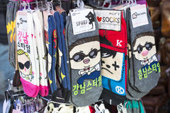 Gangnam样式袜子 图库摄影
