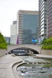 Gangnam district in Seoul, Korea Royalty Free Stock Images
