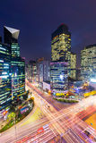 Gangnam district in Seoul Royalty Free Stock Photo