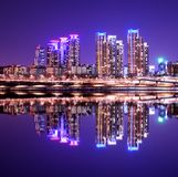 Gangnam område Royaltyfria Bilder
