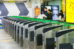 Gangnam station Royaltyfri Bild