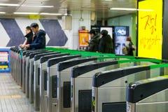 Gangnam station royaltyfri fotografi