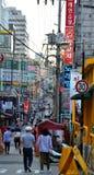 Gangnam-Straßenleben in Seoul Stockfotografie