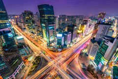 Gangnam Traffic Royalty Free Stock Images