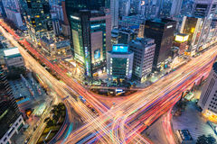 Gangnam Traffic Stock Photography