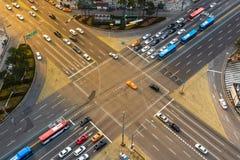 Gangnam trafik Royaltyfria Foton