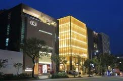 Gangnam zakupy uliczny centrum handlowe Seul Południowy Korea zdjęcie royalty free