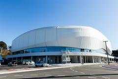GANGNEUNG, COREA DEL SUD - GENNAIO 2017: Arena del ghiaccio di Gangneung Fotografie Stock