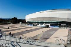 GANGNEUNG, COREA DEL SUD - GENNAIO 2017: Arena del ghiaccio di Gangneung Immagini Stock Libere da Diritti
