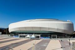 GANGNEUNG, COREA DEL SUD - GENNAIO 2017: Arena del ghiaccio di Gangneung Fotografia Stock