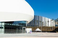 GANGNEUNG, COREA DEL SUD - GENNAIO 2017: Arena del ghiaccio di Gangneung Immagine Stock Libera da Diritti