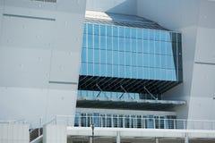 GANGNEUNG, COREA DEL SUD - GENNAIO 2017: Centro dell'hockey di Gangneung della costruzione Fotografie Stock Libere da Diritti