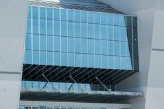 GANGNEUNG, COREA DEL SUD - GENNAIO 2017: Centro dell'hockey di Gangneung della costruzione Fotografie Stock