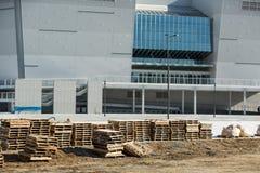 GANGNEUNG, COREA DEL SUD - GENNAIO 2017: Centro dell'hockey di Gangneung della costruzione Immagini Stock Libere da Diritti