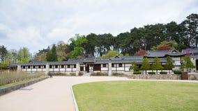 GANGNEUNG, KOREA - April 19, 2014: Seongyojang, country house bu Royalty Free Stock Images
